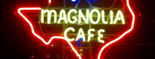 Magnolia Cafe is one of Austin.