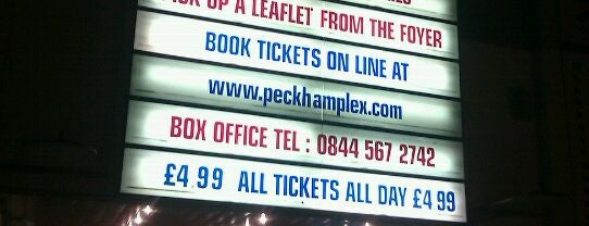 Peckhamplex is one of London.