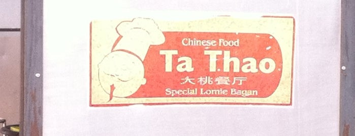 Ta Thao (Special Lomie Bagan) is one of 40 favorite restaurants.