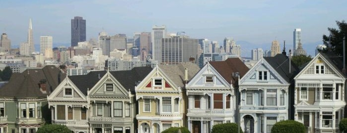 Alamo Square is one of Great City By The Bay - San Francisco, CA #visitUS.