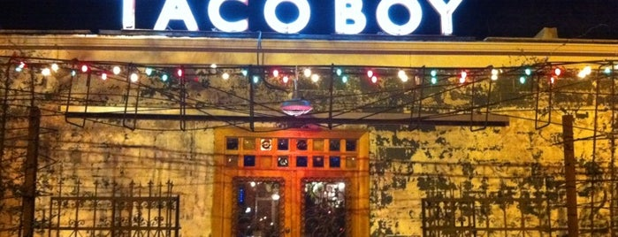 Taco Boy is one of Charleston's Top Social Spots.