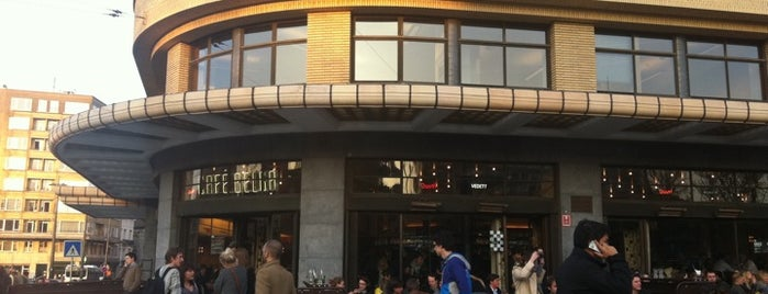 Café Belga is one of BXL to do.