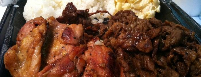 Ono Hawaiian BBQ is one of David & Dana's LA BAR & EATS!.