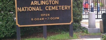 Arlington National Cemetery is one of Must see places in Washington, D.C..