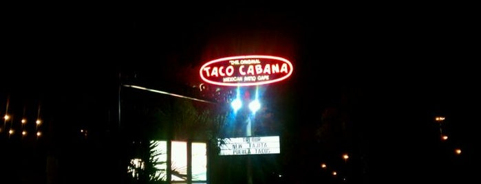 Taco Cabana is one of Top picks for Mexican Restaurants.