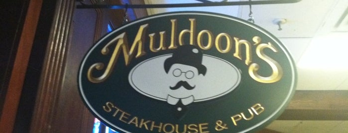 Muldoon's Steakhouse & Pub is one of My Favorite Places To Eat.