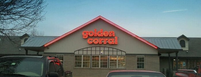Golden Corral is one of Food.