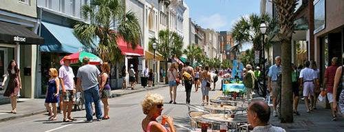 King Street is one of Charleston, SC.