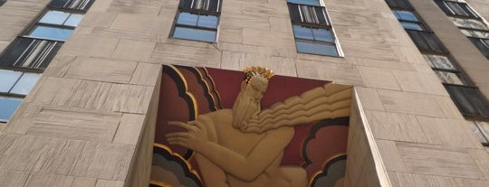 Rockefeller Center is one of Favorite Great Outdoors.