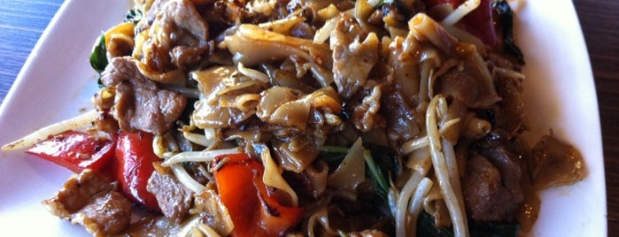 Rose Apple Thai Cuisine is one of Pad Kee Mao in the IE - Who Does It Best.
