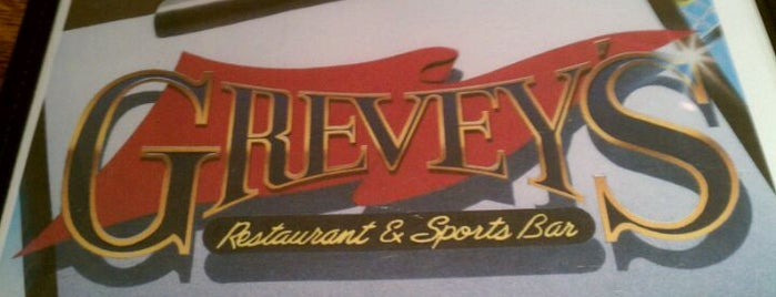 Grevey's Restaurant and Bar is one of Food & Drinks.