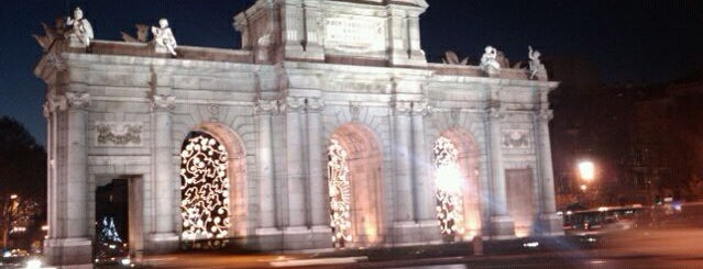 Alcalá Gate is one of Dieter's favourite spots in Madrid.