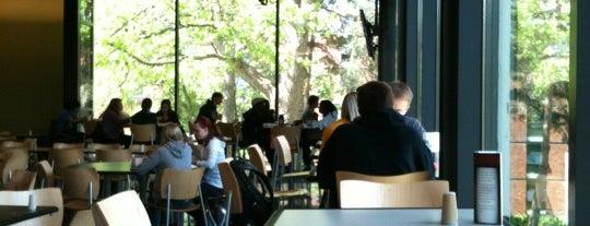 Quad Creek Café is one of Drake University.