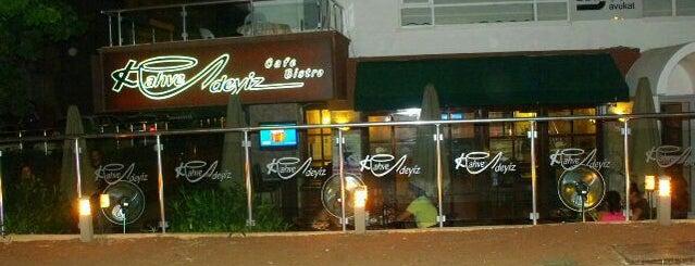 Kahvedeyiz Cafe is one of Yerler - Antalya.