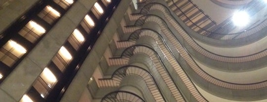 Atlanta Marriott Marquis is one of Dragon Con: Con of a Dragon.