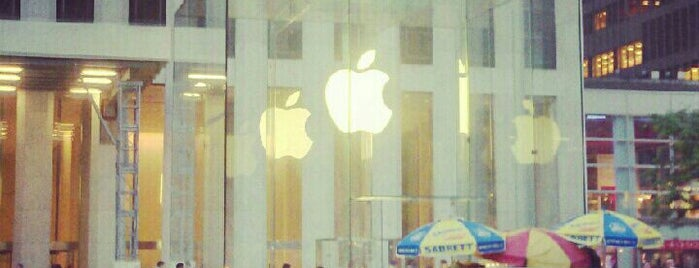 Apple Fifth Avenue is one of Ultimate NYC Nerd List.