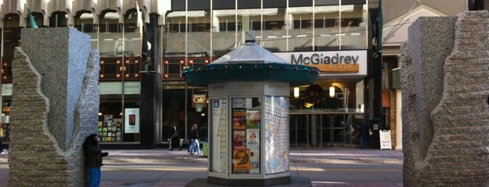 Nicollet Mall is one of Best Spots in Minneapolis, MN!.