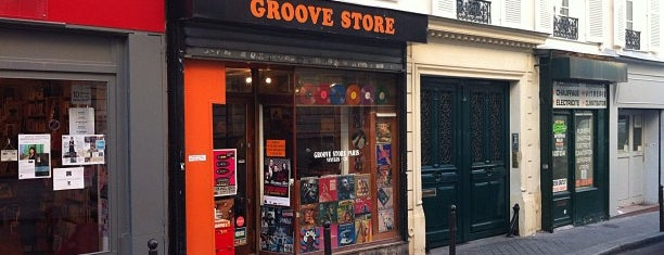 Groove Store is one of Paris // For Foreign Friends.