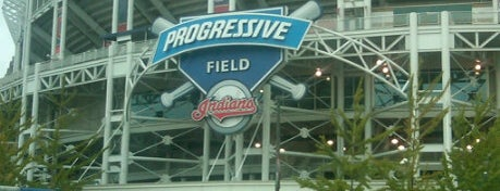 Progressive Field is one of Out and About in Cleveland.