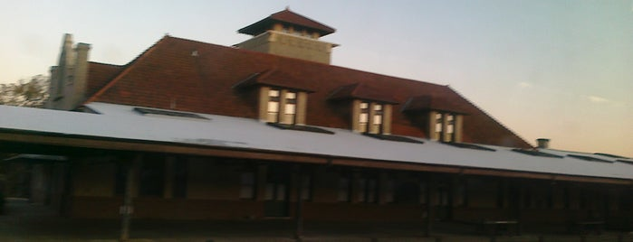 Amtrak - Salisbury Station (SAL) is one of Trains - North Carolina.
