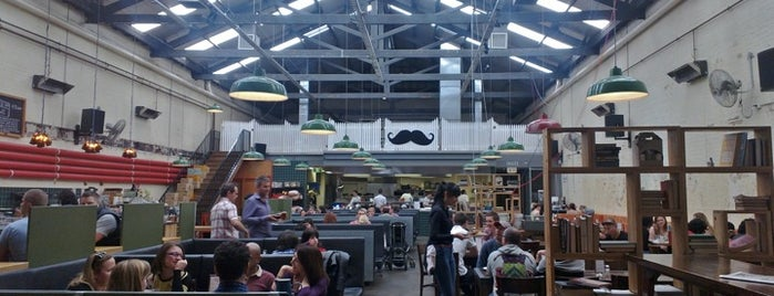 Little Creatures Dining Hall is one of The Melbourne Food Tour.
