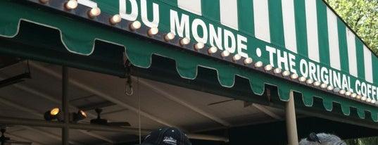Café du Monde is one of New Orleans, LA.