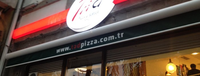 Tad Pizza & Burger is one of trabzon.