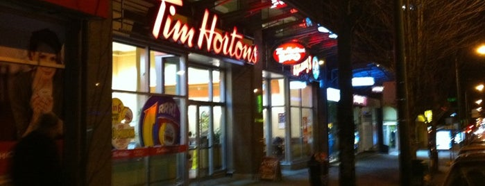 Tim Hortons is one of Must-visit Coffee Shops in Vancouver.
