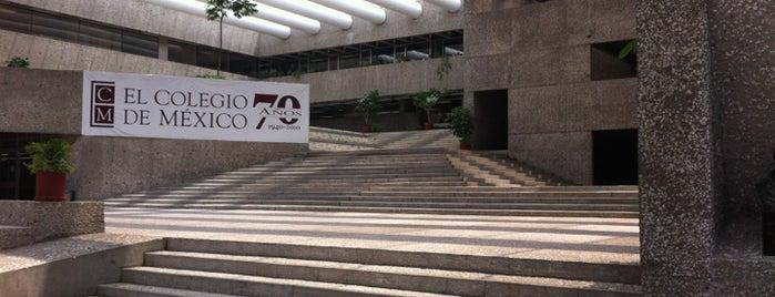 El Colegio de México is one of Universidades Ciudad de México.