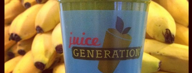 Juice Generation is one of My to-do New York.