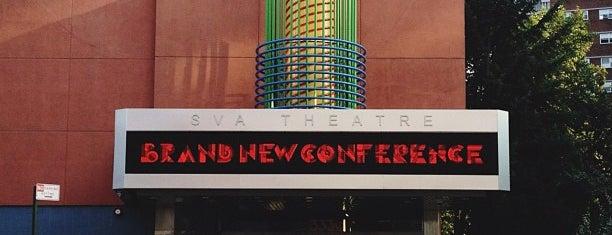 SVA Theatre is one of Zoetrope ( Worldwide ).