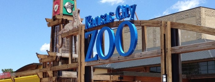 Kansas City Zoo is one of We're Not in Kansas City, Toto.