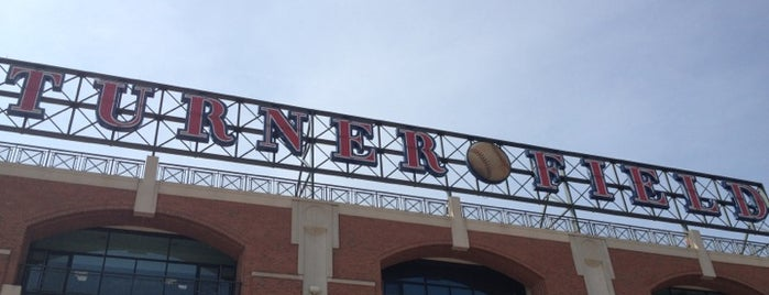 Turner Field is one of The 4sqLoveStory.