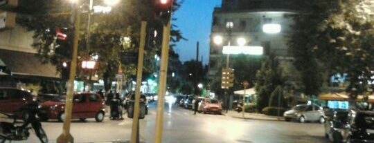 Eptalofou Square is one of my places.