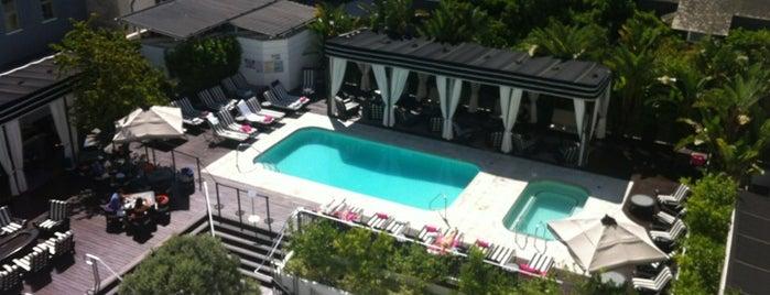 Hotel Shangri La is one of Best of LA.