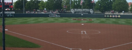 Marita Hynes Field at the OU Softball Complex is one of Sports Venues I've Worked At.