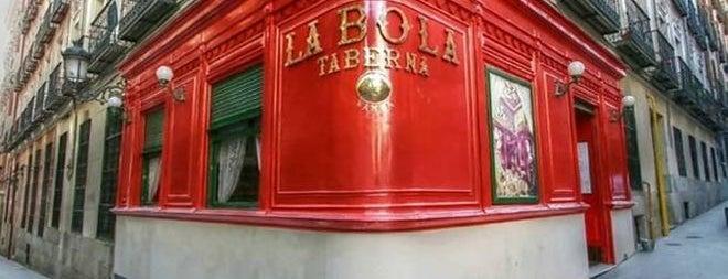 La Bola is one of Restaurantes en Madrid.