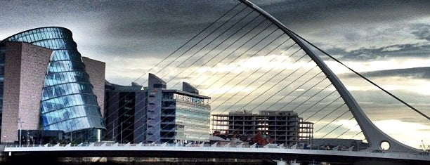 Samuel Beckett Bridge is one of All-time favorites in Ireland.