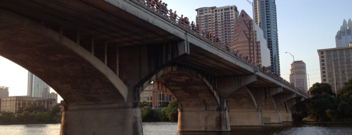 Ann W. Richards Congress Avenue Bridge is one of 4sq Crawl Badge.
