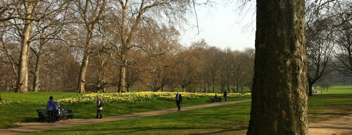 Green Park is one of London's best parks and gardens.