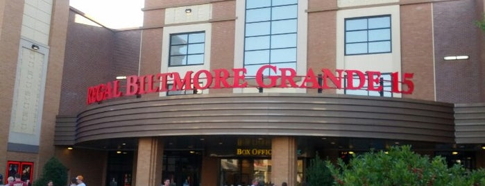 Regal Cinemas Biltmore Grande 15 & RPX is one of Asheville All-in-All.