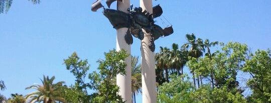 Gardens of Murillo is one of Cristóbal Colón en Sevilla.