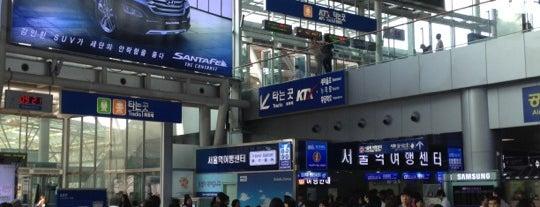 Seoul Station - KTX/Korail is one of เที่ยว Soul, Korea.