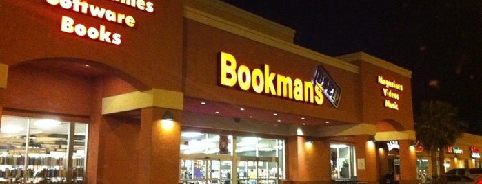 Bookmans Entertainment Exchange is one of My Faves.