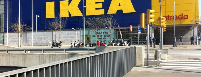IKEA is one of Lugares LH.