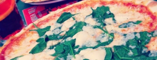 Mamma Mia Pizzeria is one of places to eat.
