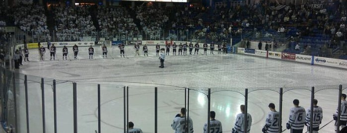 Whittemore Center Arena is one of 2012-13 Merrimack College Hockey Road Trips.