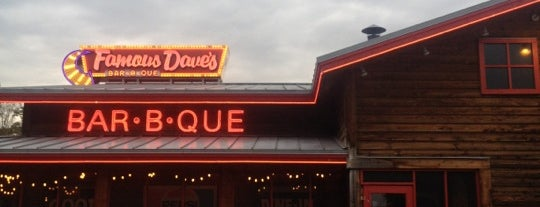 Famous Dave's is one of Restaurants.