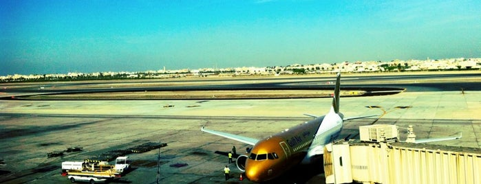 Bahrain International Airport (BAH) is one of Airports - worldwide.