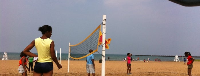 63rd Street Beach is one of The Windy City Badge.